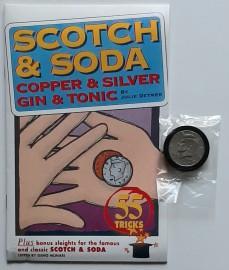SCOTCH & SODA / COPPER & SILVER / GIN & TONIC Booklet and Trick Set