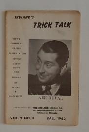 Ireland's TRICK TALK - Vol.2  No.8 FALL 1962