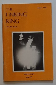 THE LINKING RING Vol.62, No.8