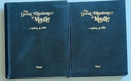 The Greatest Illusions of Magic by Byron G. Wels / Text & Plans