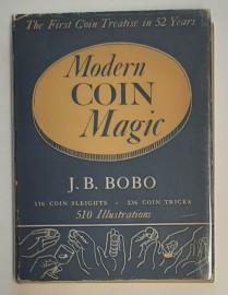Modern COIN MAGIC by J.B.BOBO