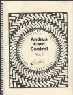 Andrus Card Control - Vol. 1 (Text) and Vol. 2 (Illustrations)