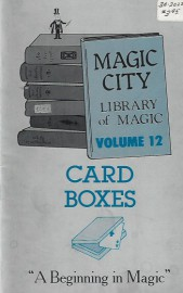 Library of Magic Vol 12 Card Boxes