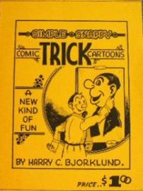 Simple, snappy comic trick cartoons