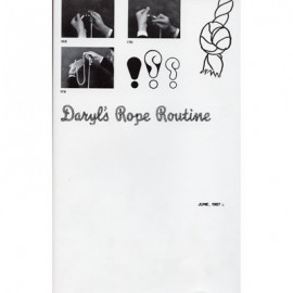 Daryl's Rope Routine (Original Text and Poster From June 1987)