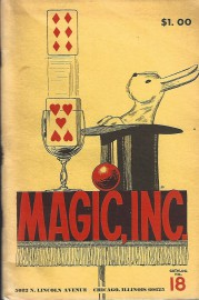 Magic Inc Catalog - No. 18