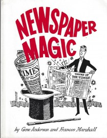 Newspaper Magic by Gene Anderson and Frances Marshall