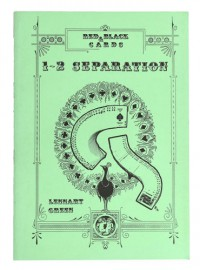 RED & BLACK CARDS 1-2 SEPARATION by LENNART GREEN
