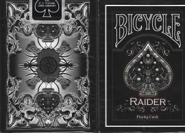 The Bicycle Raider deck - Black