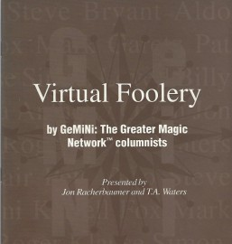 Virtual Foolery - Booklet - Jon Racherbaumer and T.A. Waters