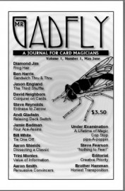 Mr. Gadfly A Journal for Card Magicians, Vol.1 No.1, May-June