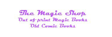 Magic Booklets - The Magic Shop
